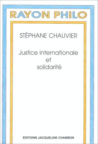 Justice internationale et solidarité