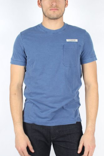 G-Star Raw - Mens RC Race T-Shirt in Deep Blue, Size: Large, Color: Deep Blue