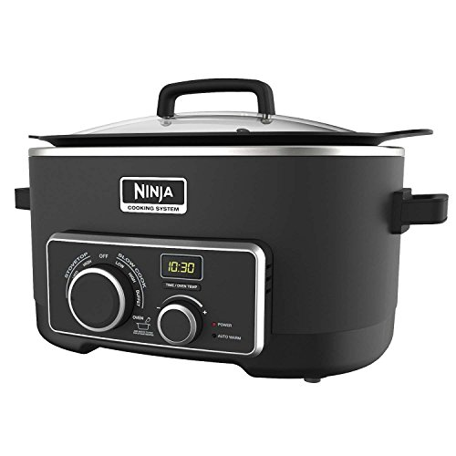 Ninja 3-in-1 6-Quart LED Cooking System (MC900) (Certified Refurbished) (3 In 1 Ninja Cooking System compare prices)