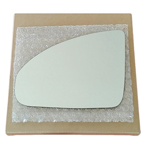 Mirror Glass and Adhesive | 03-08 Infiniti FX35 / 03-08 FX45 SUV Driver Left Side Replacement - NON BLUE TINT MIRROR (Side Mirror Tint compare prices)