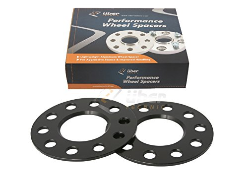 2pc-3mm-ubertechnic-hubcentric-5x1143-wheel-spacers-641mm-bore-for-acura-honda-ilx-rl-rsx-tlx-tsx-in