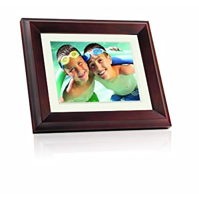 Giinii GH-ADNM 10.4-Inch Digital Picture Frame (Brown)