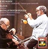 Bloch:Schelomo/Shcumann:Cello Concerto