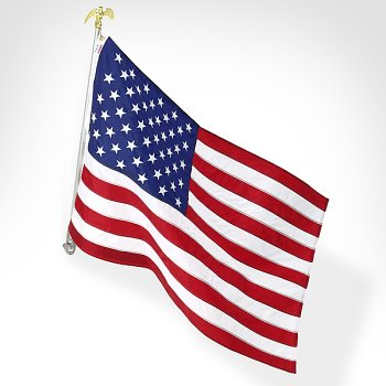 United States 3'X5' Nylon Flag with sewn stripes & embrodired stars 6' Telescoping aluminum Pole Kit with bracket - Buy United States 3'X5' Nylon Flag with sewn stripes & embrodired stars 6' Telescoping aluminum Pole Kit with bracket - Purchase United States 3'X5' Nylon Flag with sewn stripes & embrodired stars 6' Telescoping aluminum Pole Kit with bracket (Valley Forge, Home & Garden,Categories,Patio Lawn & Garden,Outdoor Decor,Banners & Flags)