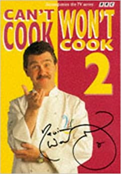 Can t cook won t cook book
