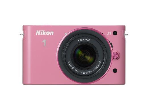 Nikon デジタル一眼カメラ Nikon 1 (ニコンワン) J1 (ジェイワン) 標準ズームレンズキット ピンク N1 J1HLK PK