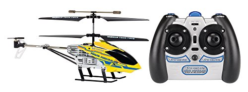 Gyro Nano Hercules Unbreakable 3.5Ch Electric Rtf Rc Helicopter (Color May Vary)