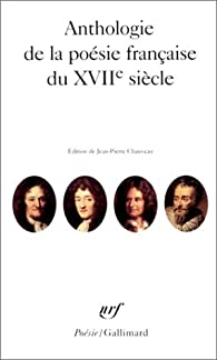 Anthologie De La Poésie Française Du Xviie Siècle Babelio