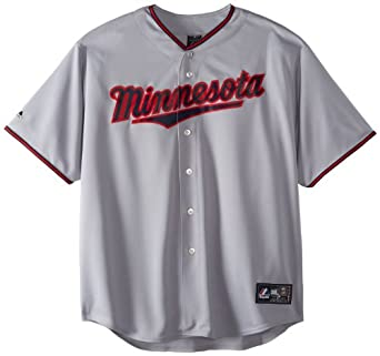 MLB Minnesota Twins Cooperstown Replica Jersey, Grey by Majestic