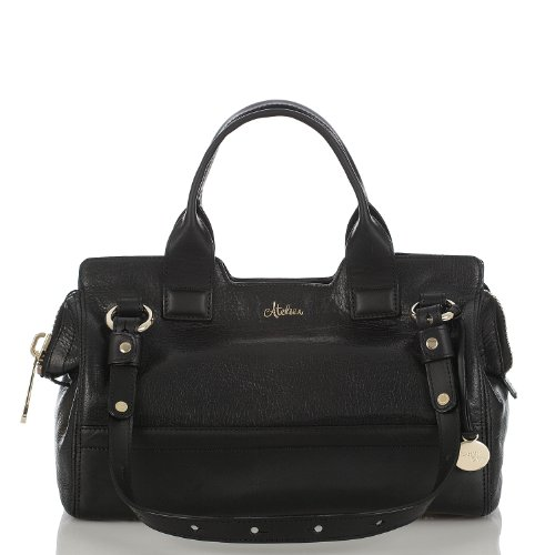Hingham Small Satchel<br>Black
