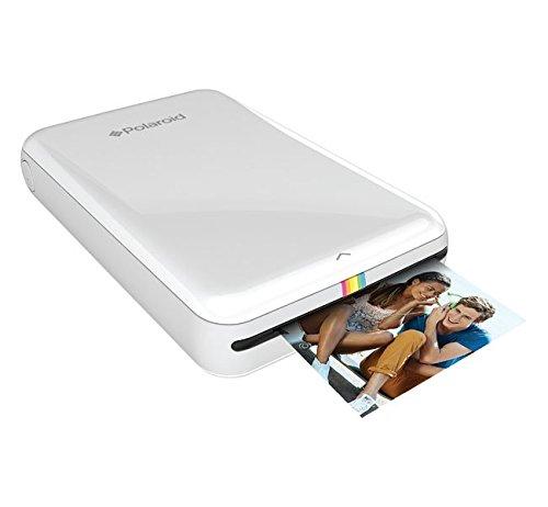 Polaroid ZIP Stampante Portatile w/ZINK Tecnologia Zero Ink Printing - Compatibile iOS e dispositivi Android - Bianco