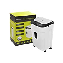 Gear Head PS8000MXW 60 Sheet Auto Feed Micro-Cut Shredder CD/DVD (White/Black)