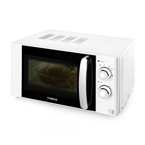 best price tower t24009w manual microwave 800 w 20 l top microwaves rh sites google com