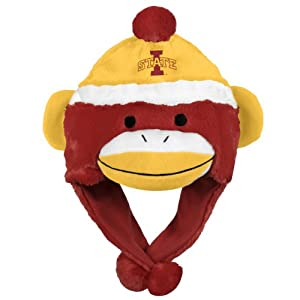 NCAA Iowa State Cyclones Team Sock Monkey Hat by Forever Collectibles