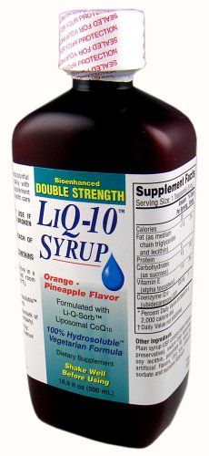 DOUBLE STRENGTH LiQ-10 Syrup Liposomal CoQ10 (100mg per