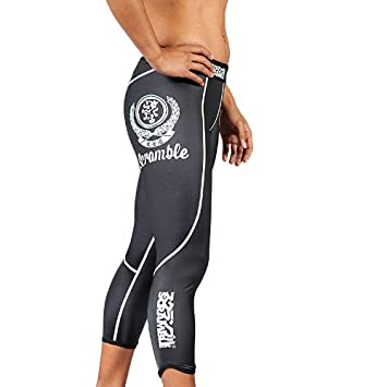 Scramble Ladies Spats Grappling Leggings Black