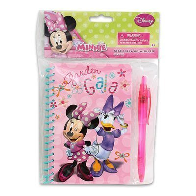 Disney Minnie Mouse Stationery Set with Pen (60 Sheets) - 1