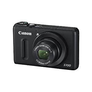 Canon PowerShot S100 12.1 MP Digital Camera with 5x Wide Angle Optical Image Stabilized Zoom