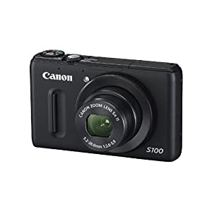 9. Canon PowerShot S100 12.1 MP Digital Camera with 5x Wide Angle Optical Image Stabilized Zoom (Black) Price: $404.89