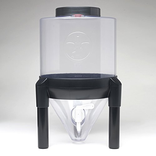 Little Demon 3 Gallon Conical Fermenter - Clear (Conical Beer Fermenter compare prices)