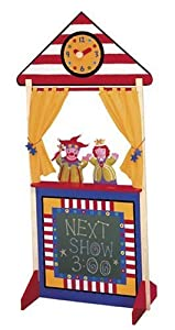 Alex Floor Standing Wooden Puppet Theater - 59 X 25 X 15 from Alex