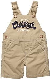 OshKosh B\'Gosh Shortall - Khaki - 6 Months