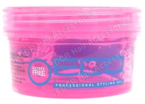 eco-professional-curl-wave-styling-gel-firm-hold-all-types-of-hair-8-oz-pink