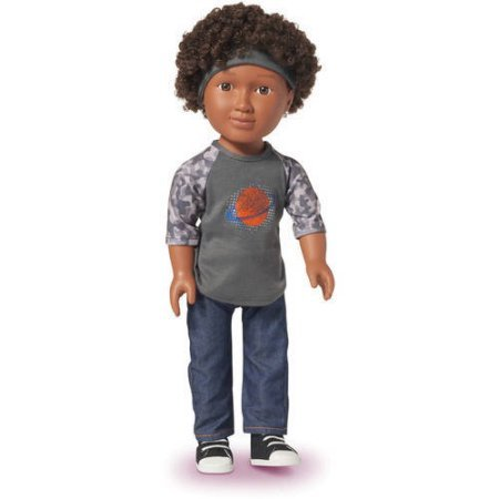 """2016 Hot Toy List: Rated Kid-Tested and Parent-Approved (Parents Magazine / Amazon) My Life As 18"""" Schoolboy Doll, African American"""