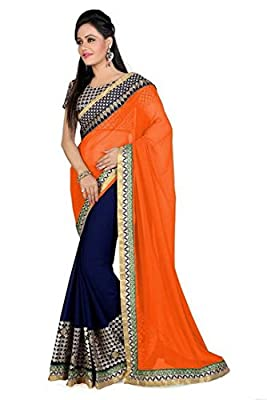 JENCY FASHION Designer party Ware Saree