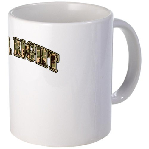 Cafepress Camo Mr. Right Mug - Standard