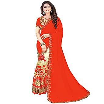 Siddeshwary Fab Women Georgette And Net Saree