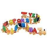 Arshiner Wooden Alphabets Train Set 26 Piece