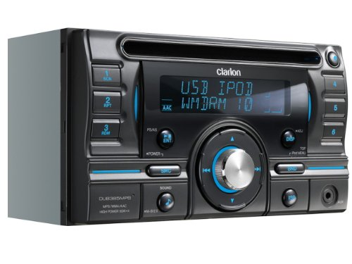 クラリオン Clarion DUB385MPB 2DIN CD/USB/MP3/WMA/AAC レシーバー