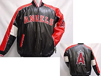 Los Angeles Angels of Anaheim MLB Adult Pleather Jacket by G-III Sports
