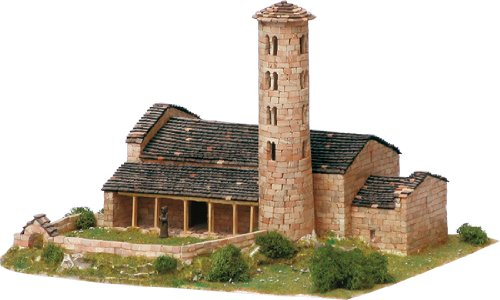 Santa Coloma Church Model Kit