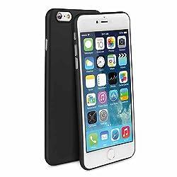 Uniq Bodycon Midnight Skinfit Case for iPhone 6/6S Plus Black