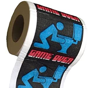 Funny Toilet Paper: Game Over. Precio: $4.95
