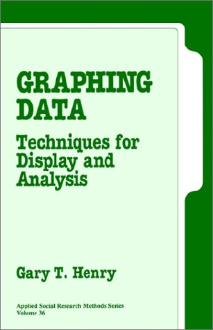 Graphing Data: Techniques for Display and Analysis (Applied Social Research Methods)