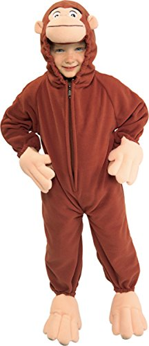Rubies Costume Co 885500T Curious George Toddler Costume