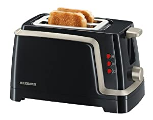 Severin Titanium Automatic Toaster, Black