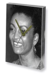 ADJOA ANDOH - Canvas Clock (A4 - Signed by the Artist) #js001