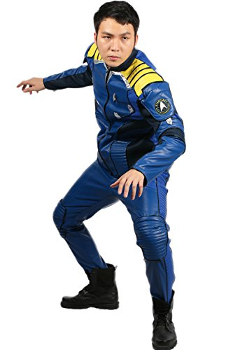 XCOSTUME Captain Kirk Costume Cosplay Outfit Uniform Adult Halloween 2016(XL) (Captain Kirk Outfit)