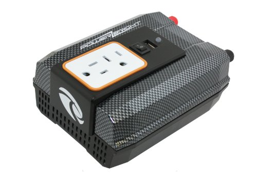 Power Bright XR400-12 Power Inverter 400 Watt 12 Volt DC To 110 Volt AC with USB Charging Port