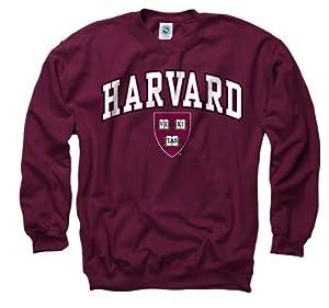 Harvard Crimson Crimson Perennial II Crewneck Sweatshirt
