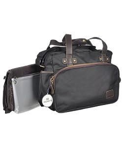 eddie bauer valise twill satchel diaper bag. Black Bedroom Furniture Sets. Home Design Ideas
