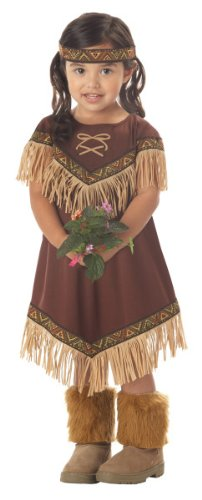 [Toddler Indian Princess Costume Size (3-4T)] (Toddler Indian Costumes)