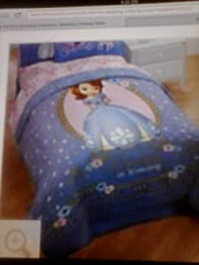Disney Store princess Sofia the First Bedding collection Comforter Twin or full