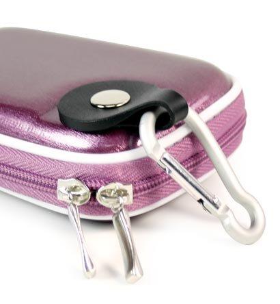 - Metallic Purple Color Jjak1 High Quality Mini Hard Shell Carrying Case For Sony Cybershot W310 Dsc-W310 Dsc-W310/B 12 12.1Mp Digital Camera Cover (+ 1Pc Name Tag) -- Best Seller On Amazon!