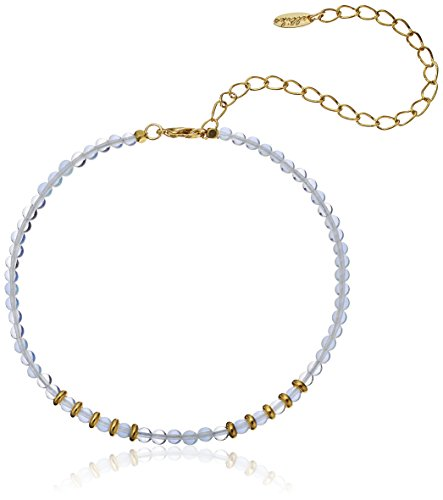 Ettika Still Surprise You Opal and Gold-Plated Bra…