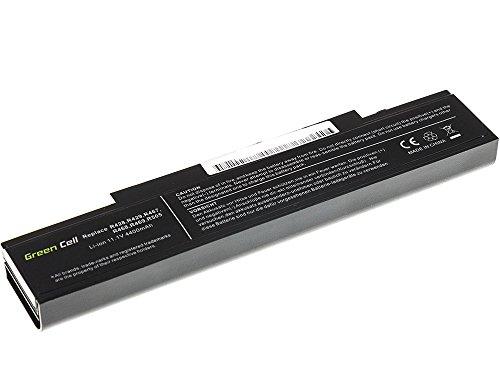 Green Cell® Laptop Notebook Akku Batterie für Samsung NP550P7C-T02DE (4400mAh), 204x48x20mm / schwarz / Premium-Qualität Zellen